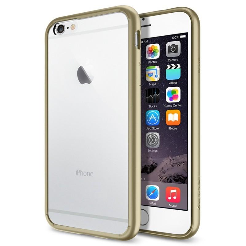 Spigen Ultra Hybrid iPhone 6(S) Champagne goud