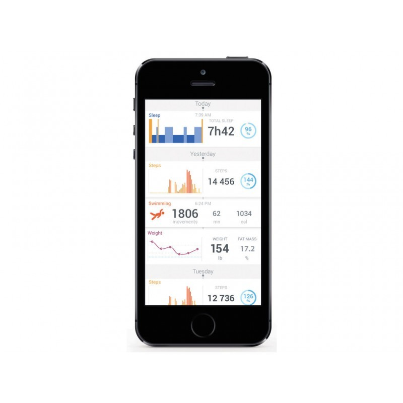 Withings Activite silber