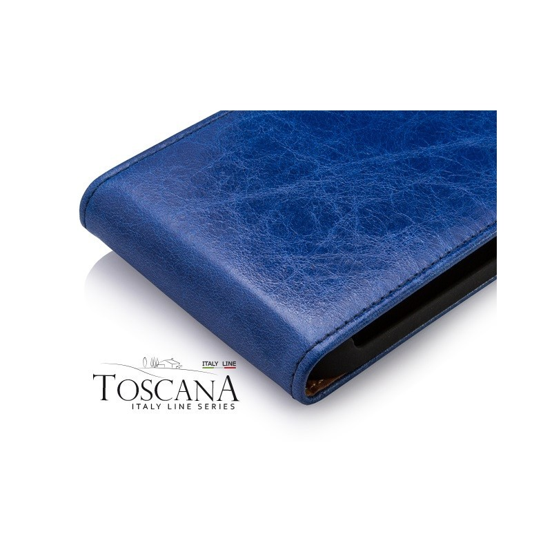 Toscana Galaxy S4 Mini Flip Case Blue