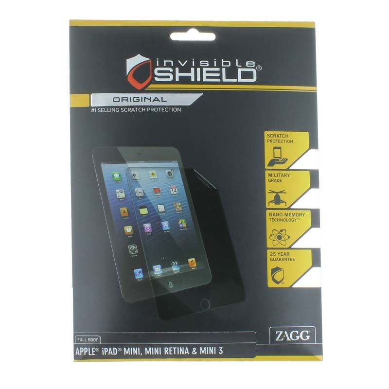 invisibleSHIELD iPad mini 1 / 2 / 3 Full Body