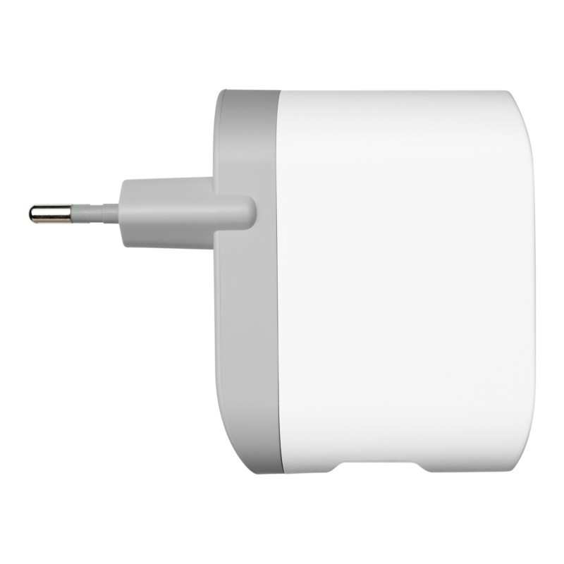 Dual USB Wall Charger 2 x 2.1A weiß