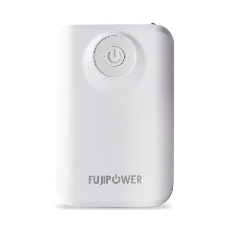 Fujipower Universal Powerbank 6600 mAh 1A Weiß