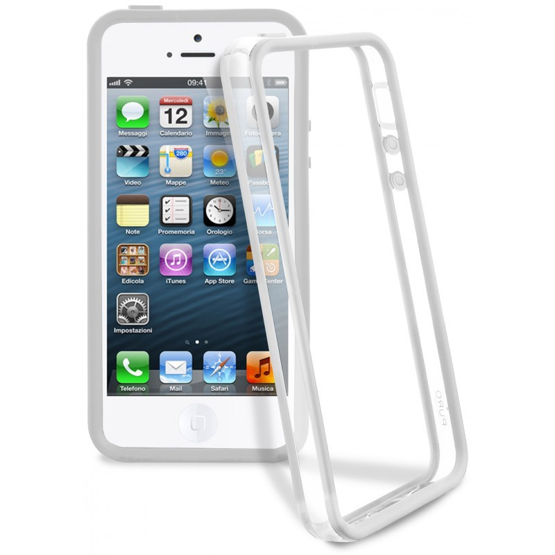 Bumper iPhone 5 / 5S Clear Grey