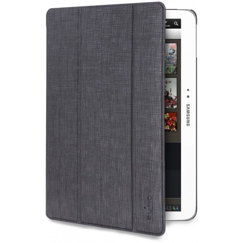 Puro Slim Case Ice Galaxy Tab 3 10.1 Dark Grey
