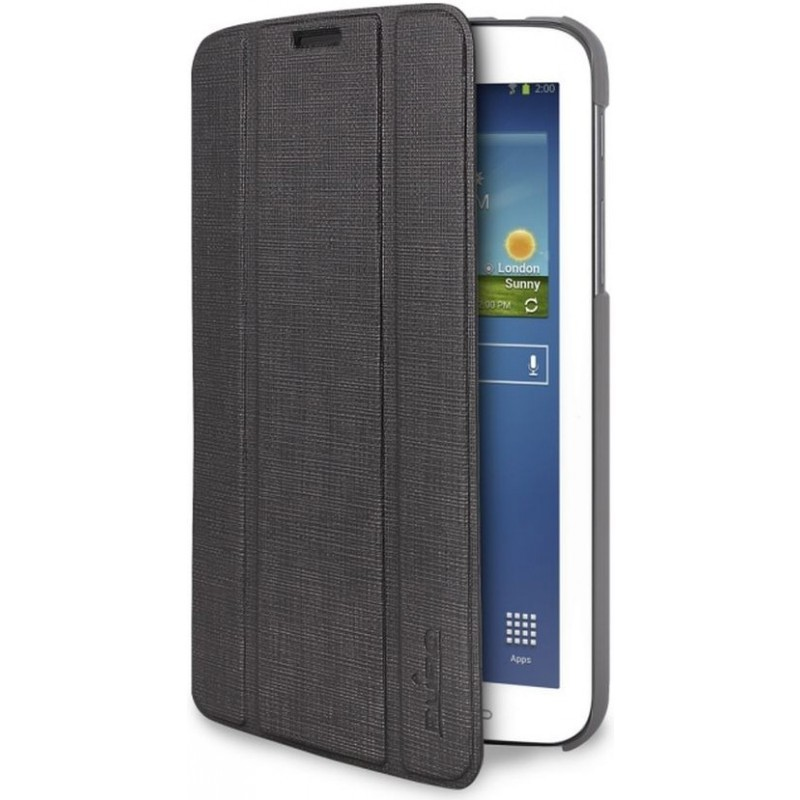 Puro Slim Case Ice Galaxy Tab 3 7.0 Dark Grey