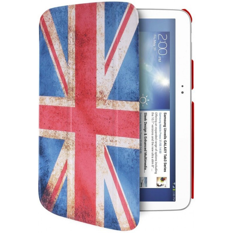 Puro Slim Case Zeta Galaxy Tab 3 10.1 UK Flag
