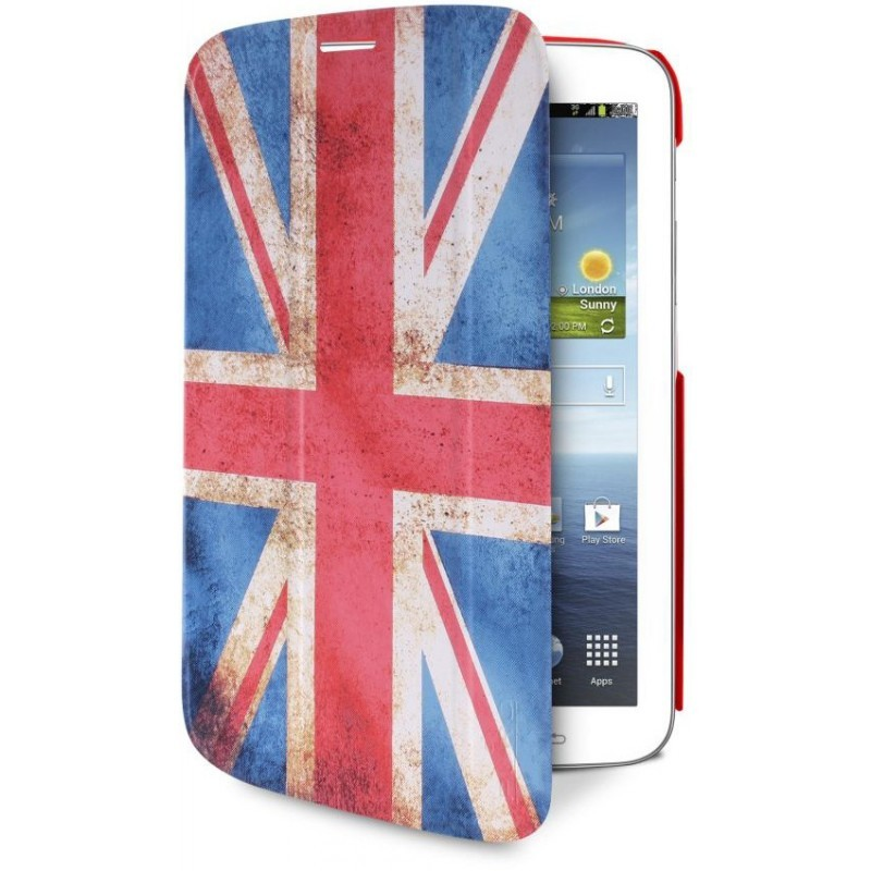 Puro Slim Case Zeta Galaxy Tab 3 7.0 UK Flag