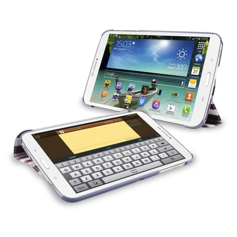 Puro Slim Case Zeta Galaxy Tab 3 8.0 USA Flag