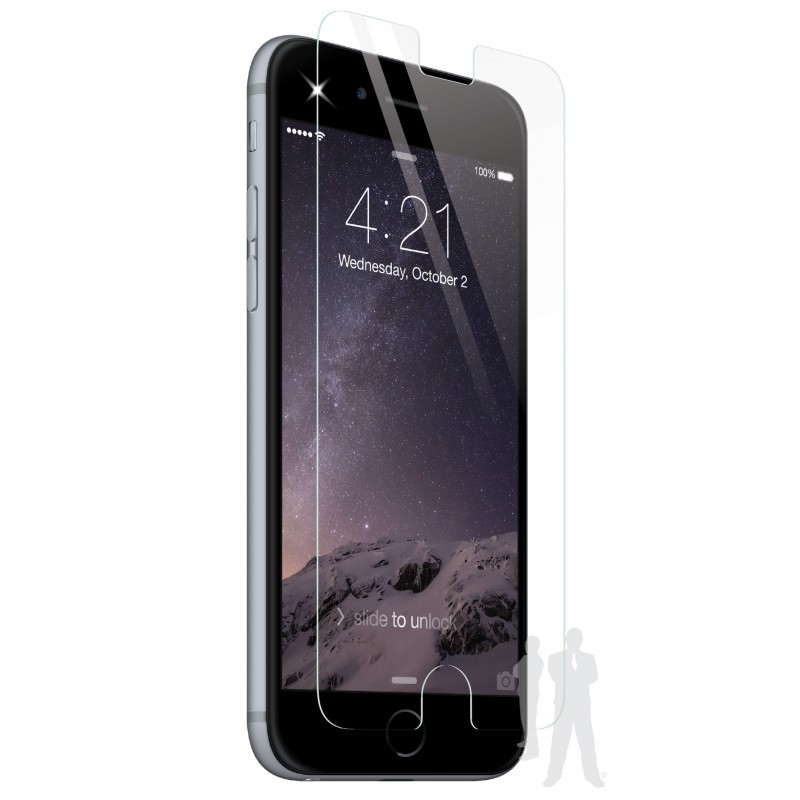 BodyGuardz Pure Glass iPhone 6 Plus / 6S Plus Screenprotector Clear