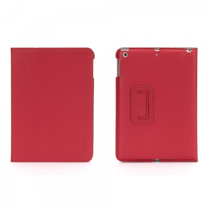 Griffin Slim Booklet case iPad Air 1 rot