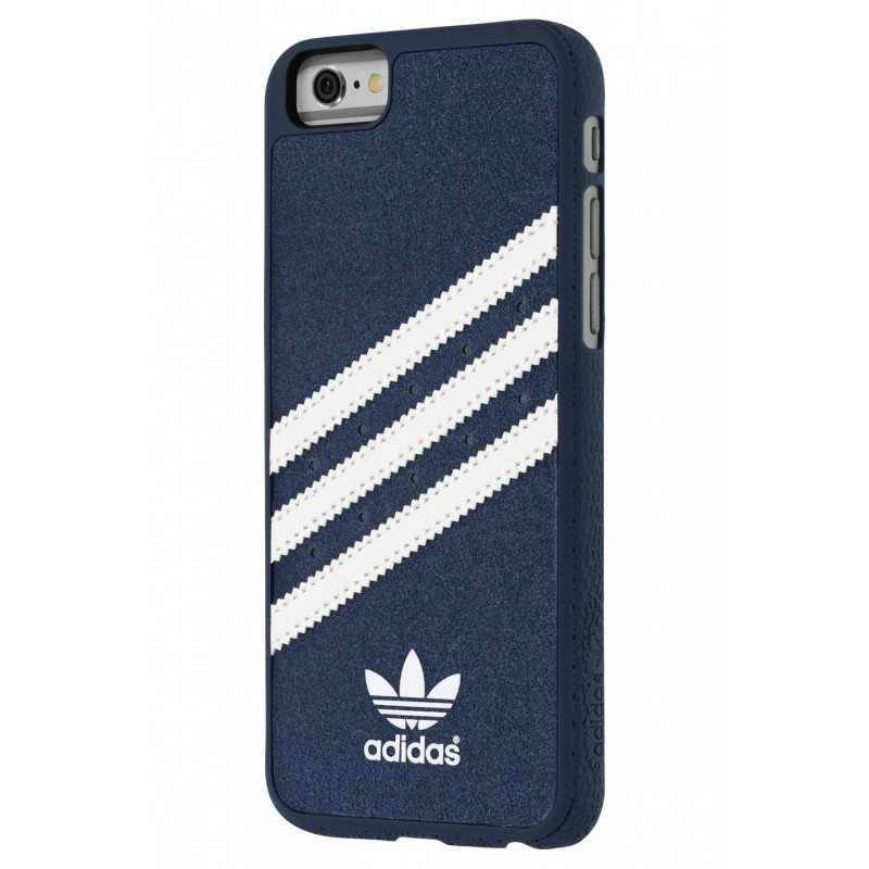 Adidas Vintage Moulded Case iPhone 6(S) Blau / Weiß