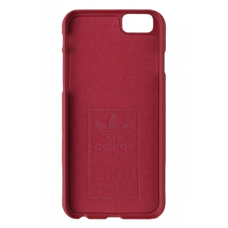 Adidas Vintage Moulded Case iPhone 6(S) Rot / Weiß