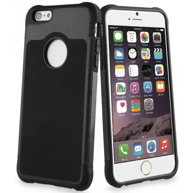 Anti-Shock Case iPhone 6 Plus / 6S Plus Black / Grey