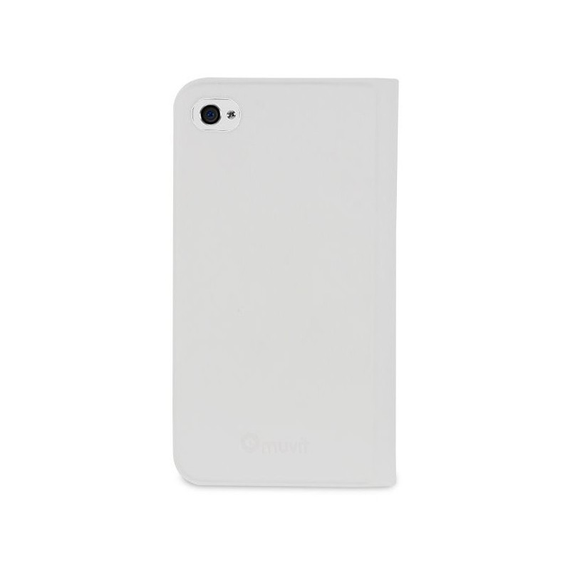 Muvit Folio Card Case iPhone 4 / 4S White
