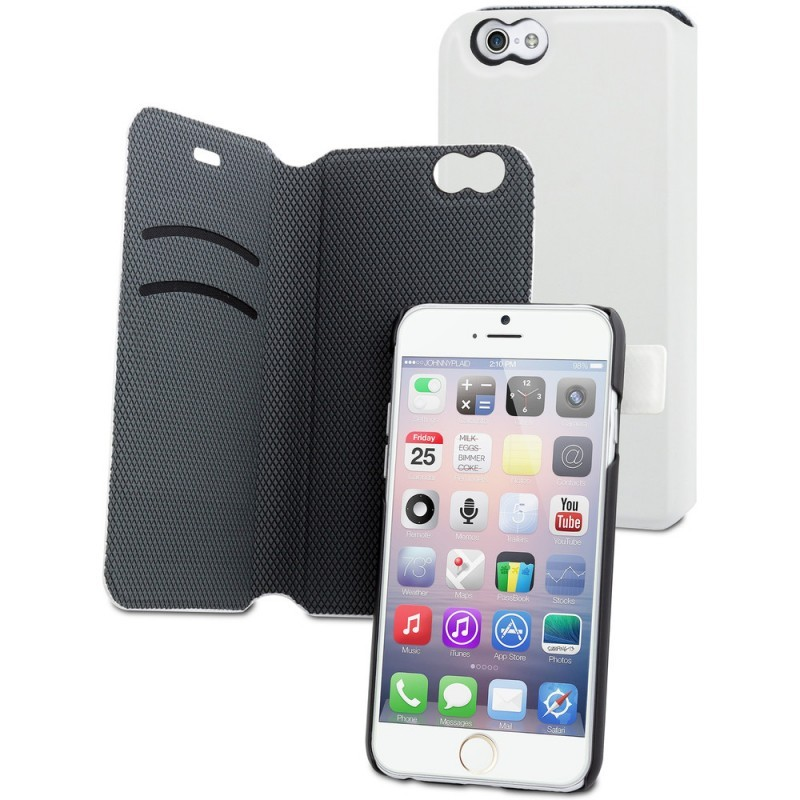 Muvit Magic Folio Case iPhone 6(S) weiß