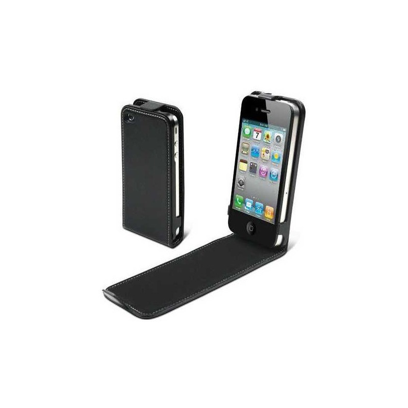Muvit Slim Case iPhone 4(S) schwarz