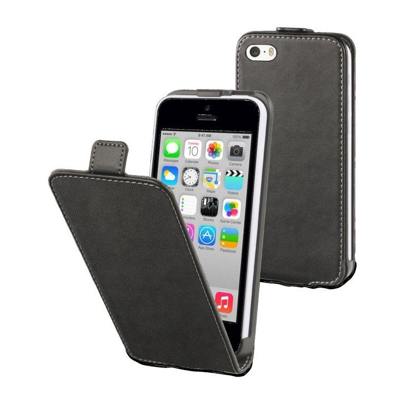 Muvit Slim Case iPhone 5C schwarz