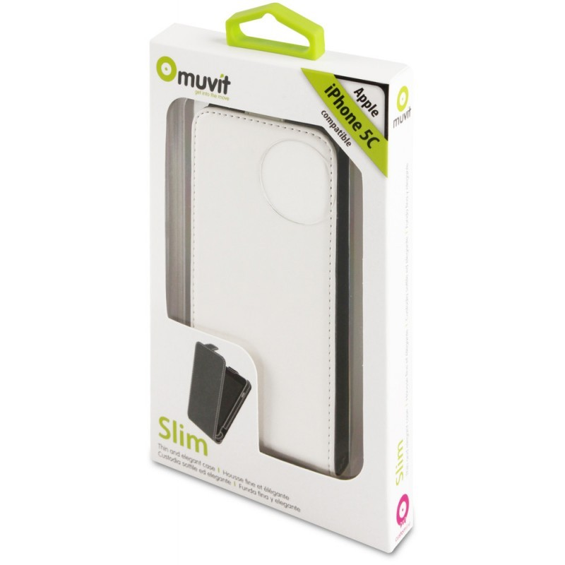 Muvit Slim Case iPhone 5C White