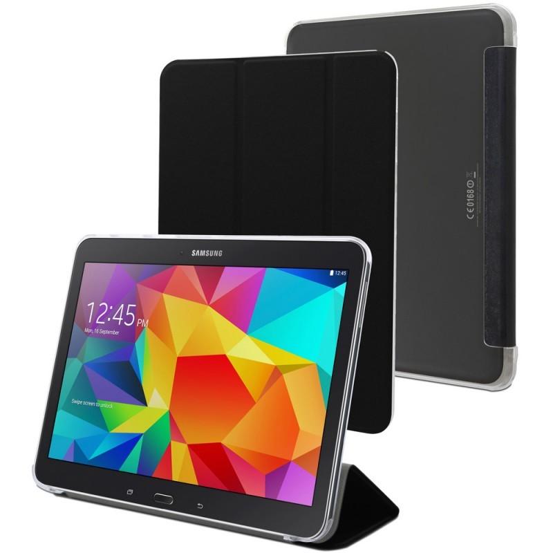 Muvit Smart Stand Case Galaxy Tab 4 10.1'' schwarz