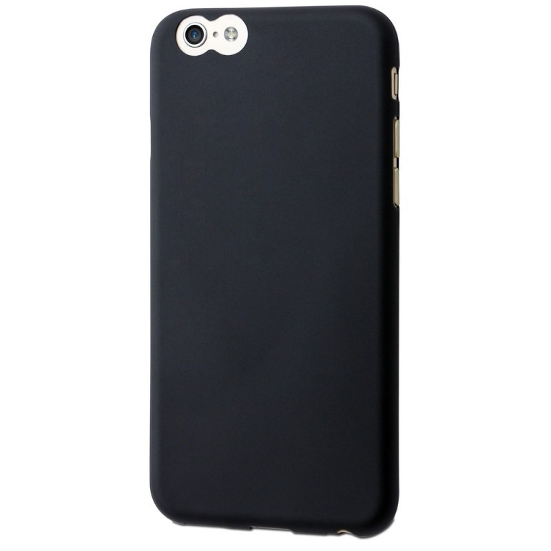 Muvit ThinGel Case iPhone 6(S) schwarz/transparent