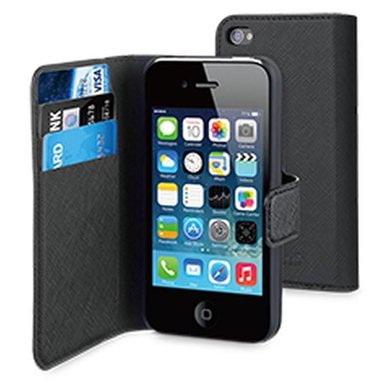 Muvit Wallet Case iPhone 4(S) schwarz