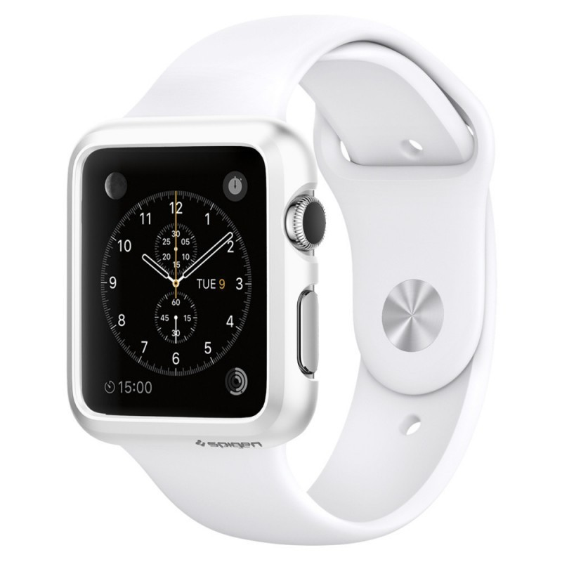 Spigen Thin Fit Apple Watch 38mm Smooth White