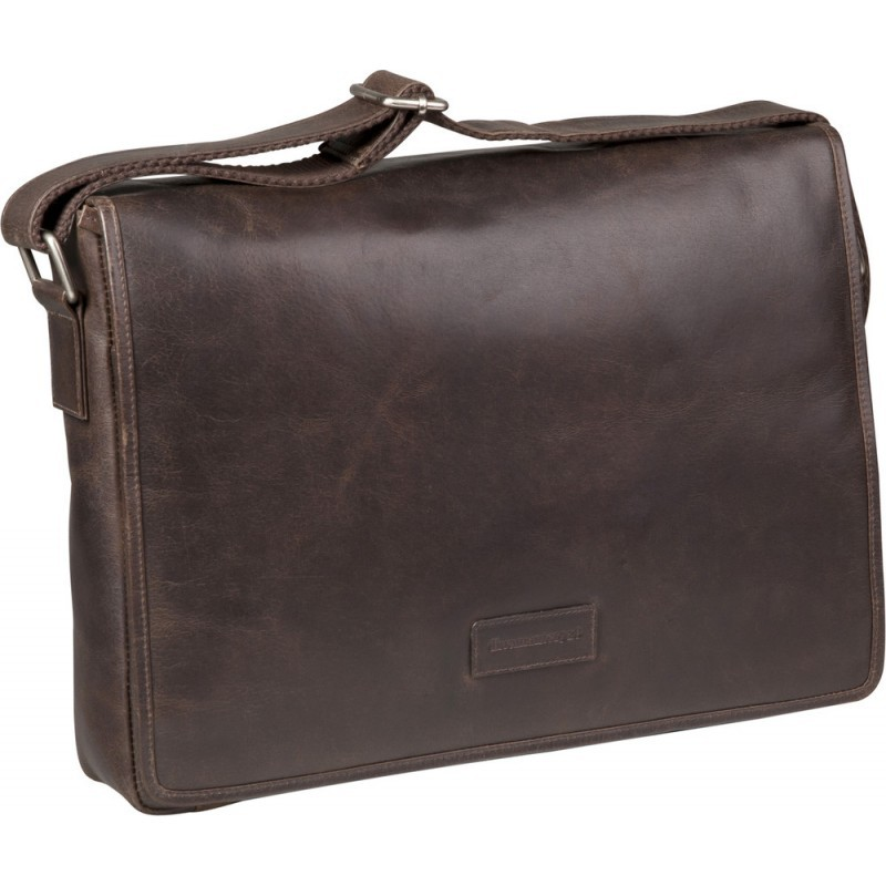 dbramante1928 Marselisborg 14 inch Messenger Bag Hunter Dark