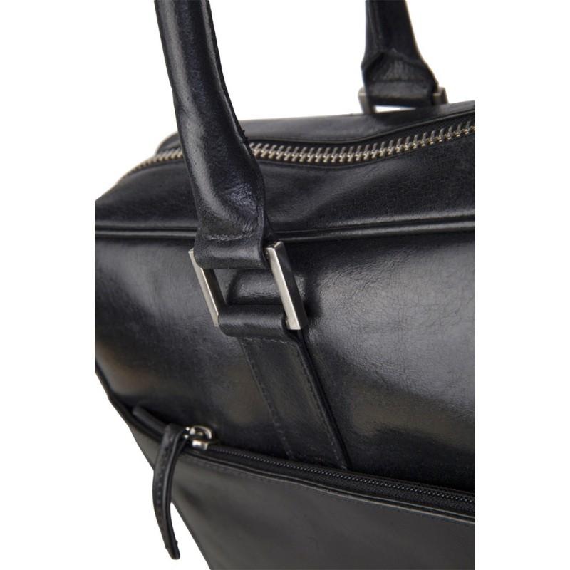 dbramante1928 Rosenborg MacBook 15 inch Leather Business Bag Black