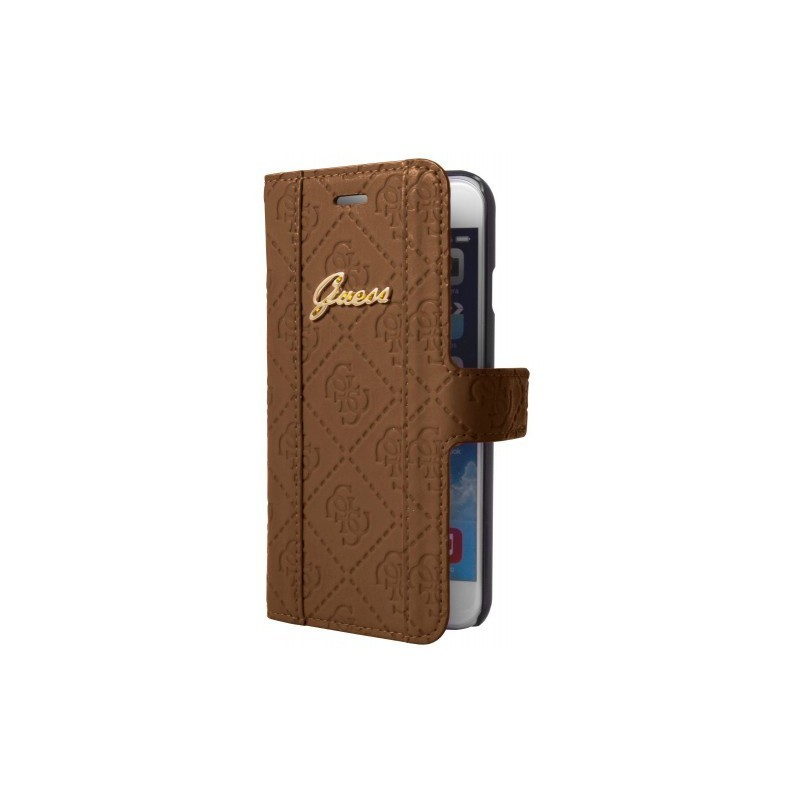 Guess Scarlett Galaxy S5 Folio Case Cognac