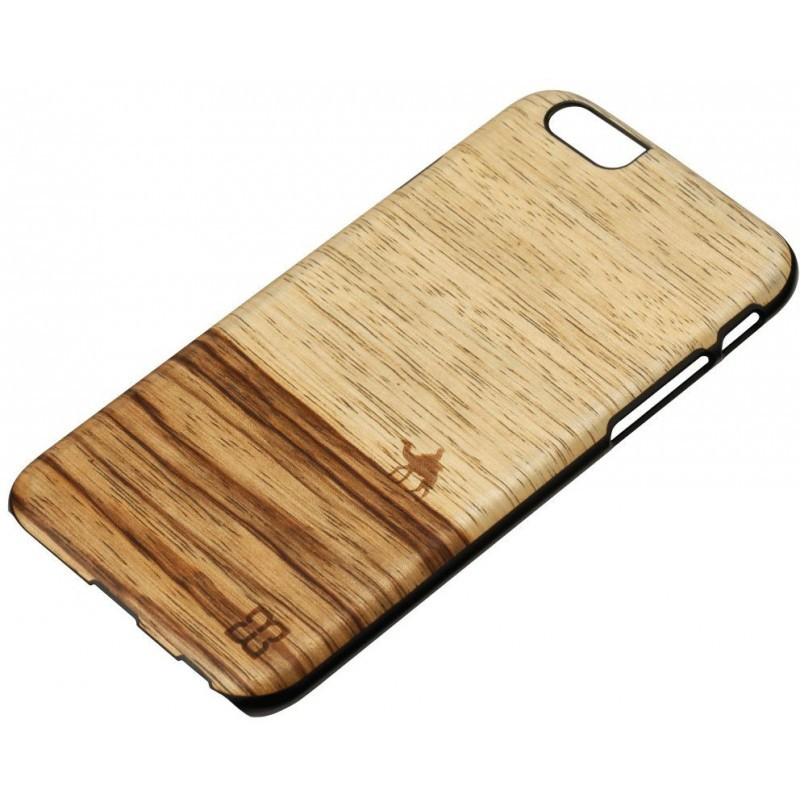 Man and Wood iPhone 6 Back case Terra Black