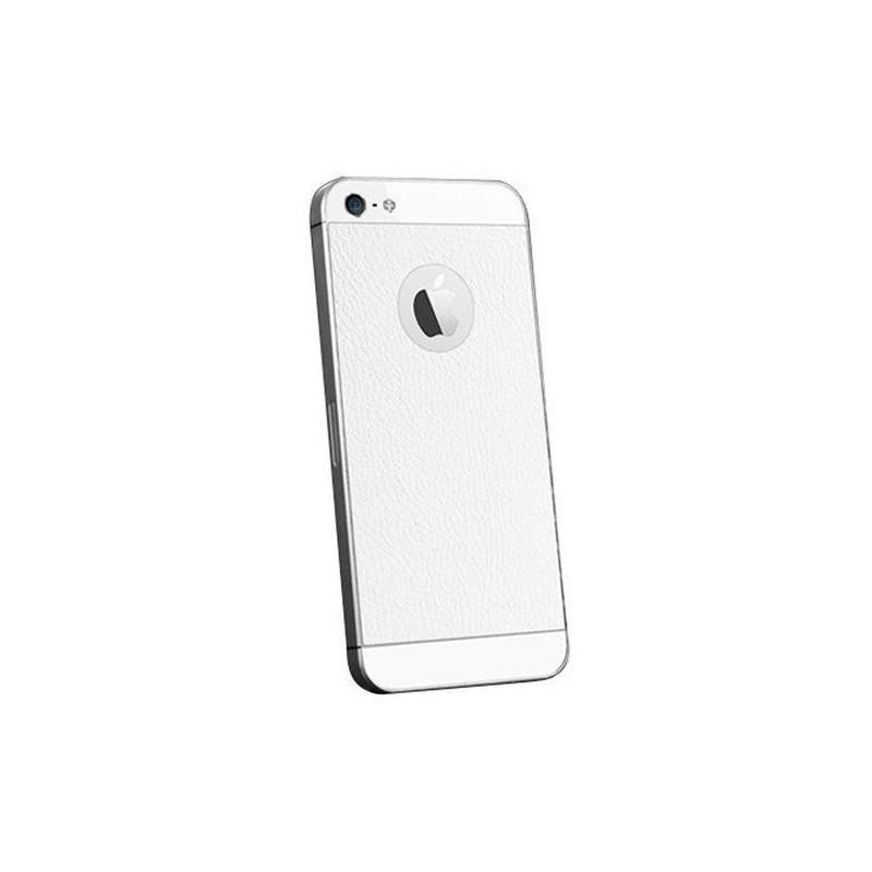 Spigen Skin Guard Leather iPhone 5(S) weiß