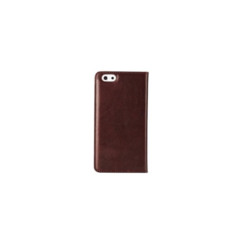 Melkco Herman iPhone 5 / 5S Book Case Italian Coffee