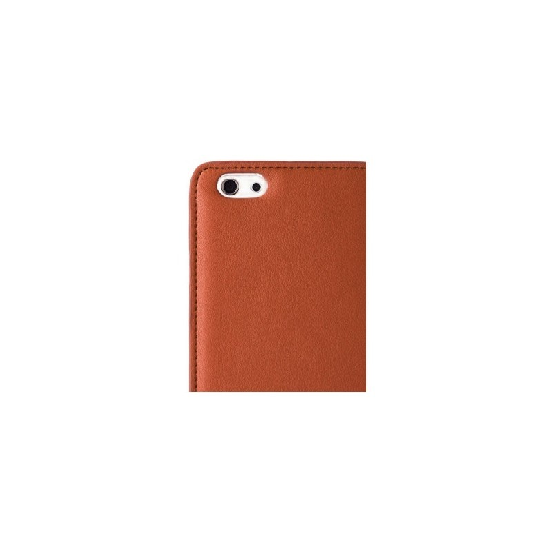Melkco Herman iPhone 6 / 6S Book Case Italian Brown