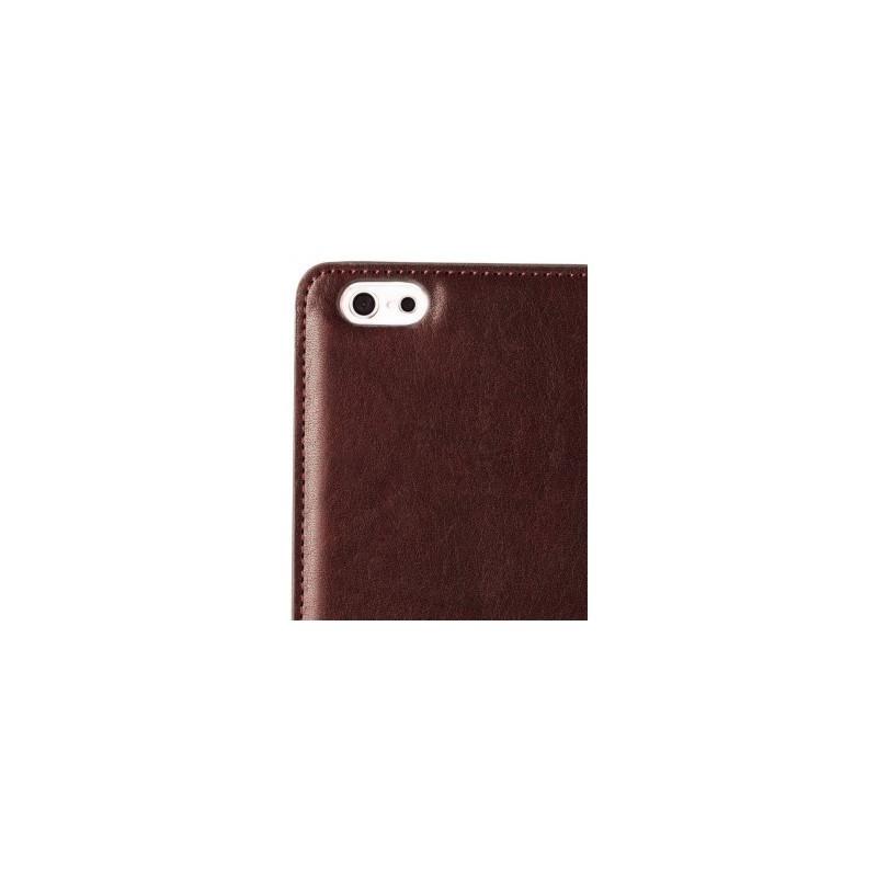 Melkco Herman iPhone 6 / 6S Book Case Italian Coffee