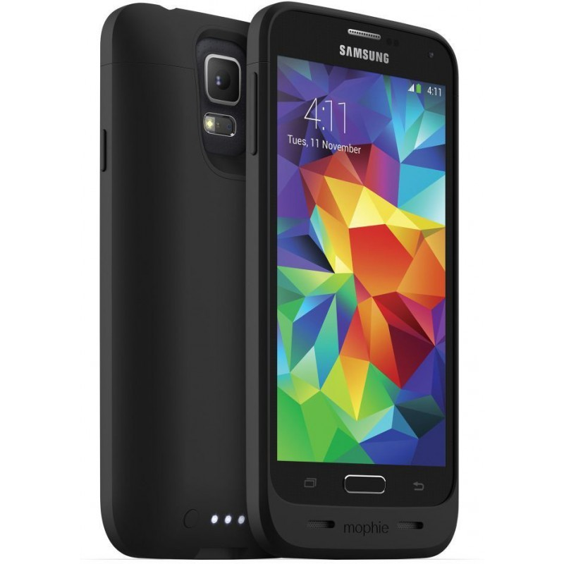 Mophie juice pack Galaxy S5 schwarz