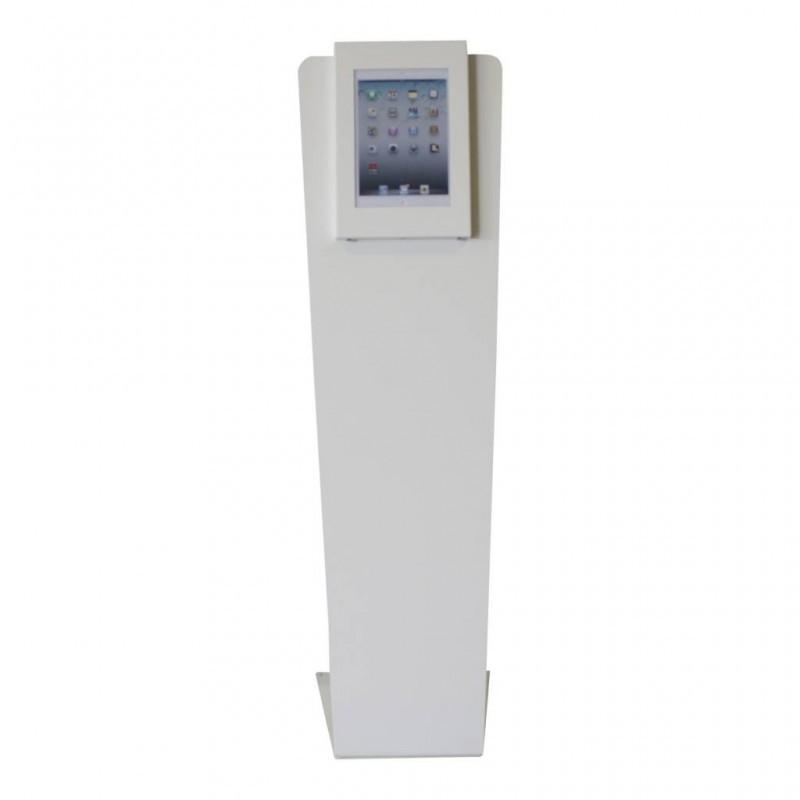 Tablet Bodenständer Securo Kiosk iPad Pro 12,9 Inch weiß