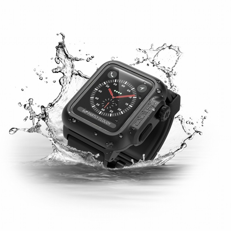 Catalyst Waterproof Apple Watch 2 38mm Case schwarz