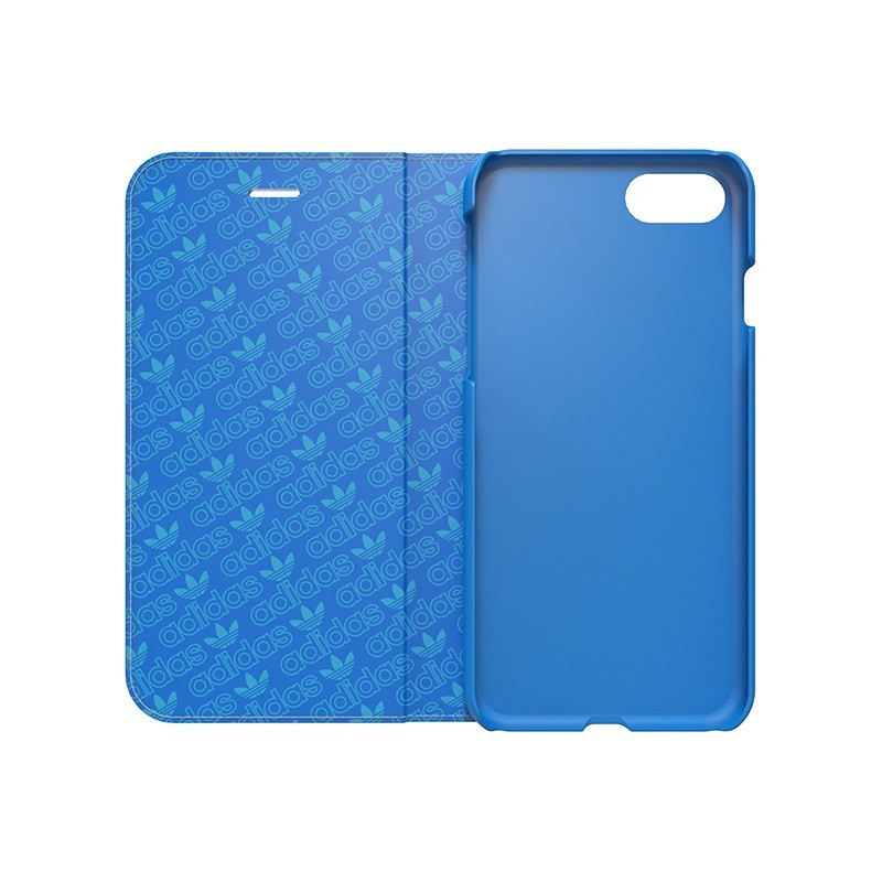 Adidas Booklet Case iPhone 7 Blau