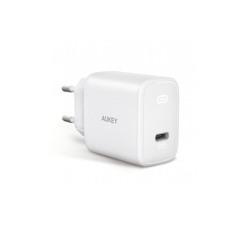 Aukey USB C Power Delivery Charger 20W weiß