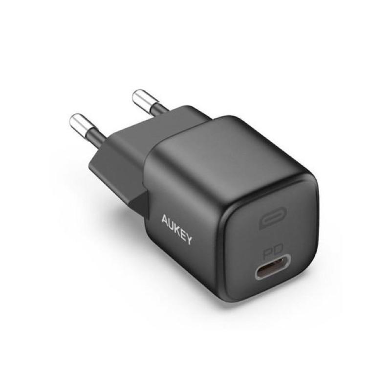 Aukey USB C Power Delivery Mini Charger 20W schwarz