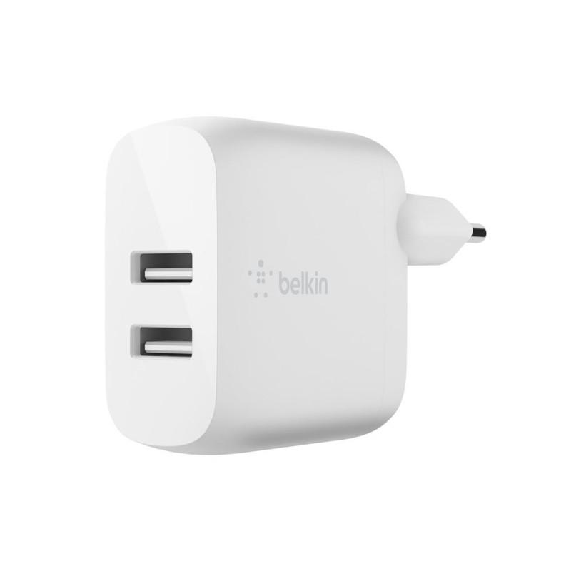 Belkin Boost Charge Dual USB-A Ladegerät 24W + Lighting Kabel