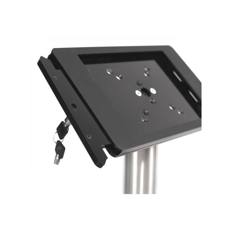 Tablet Bodenständer Fino iPad Pro 12,9 schwarz (Edelstahl)