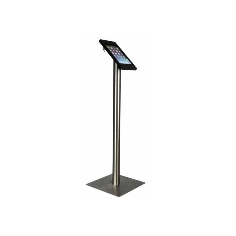 Tablet Bodenständer Fino iPad 9.7 Inch Schwarz/Edelstahl