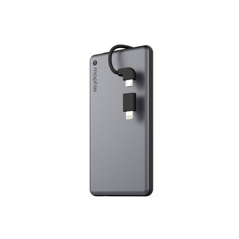 Mophie Powerstation plus Mini 4K Grau