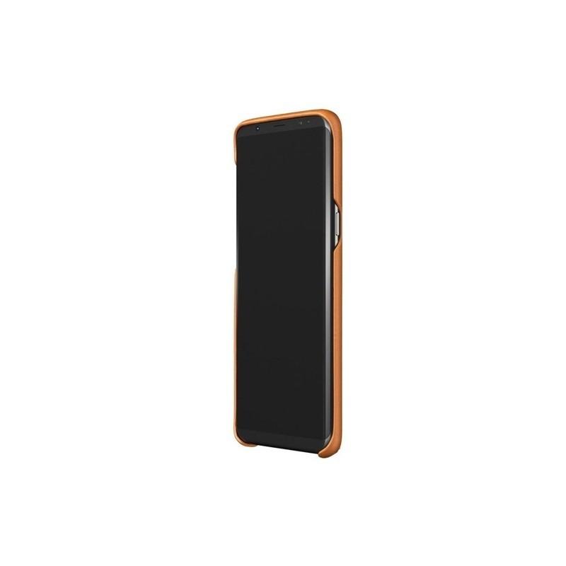 uk availability 111df ef871 Mujjo Leather Case Galaxy S8 Plus braun