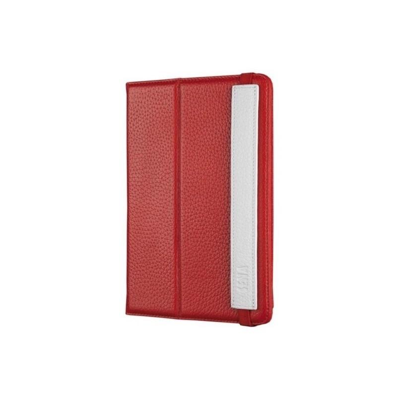 Sena Journal iPad Mini 1 / 2 / 3 Hülle rot / weiß
