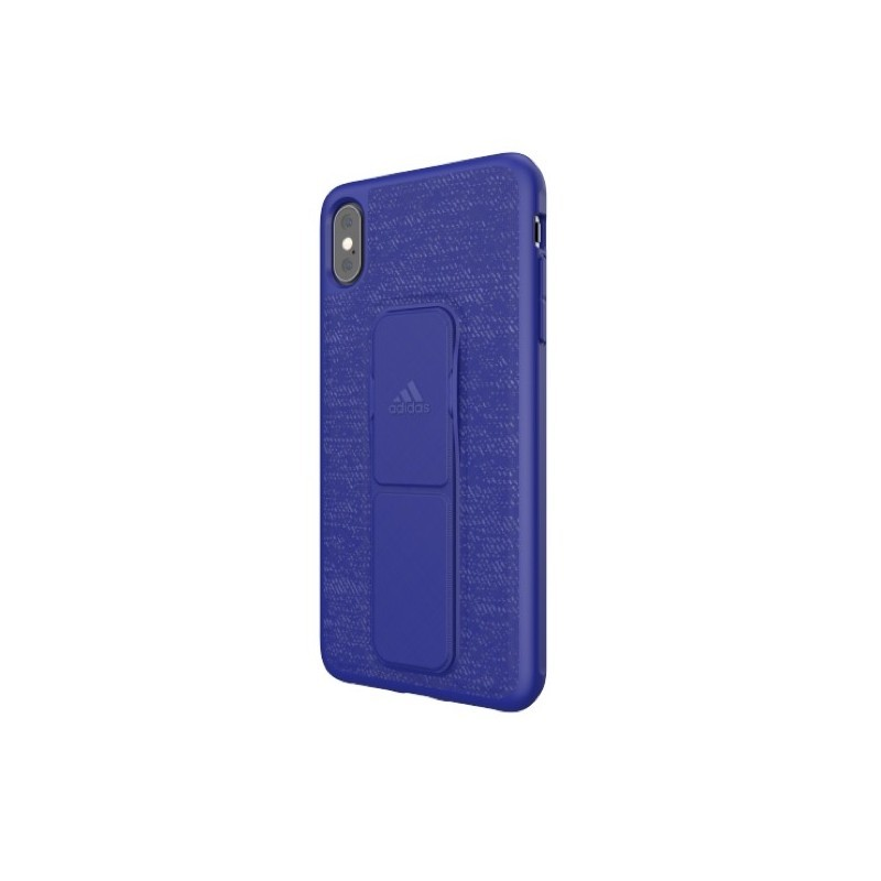 Adidas SP Grip Case iPhone XS Max Blau