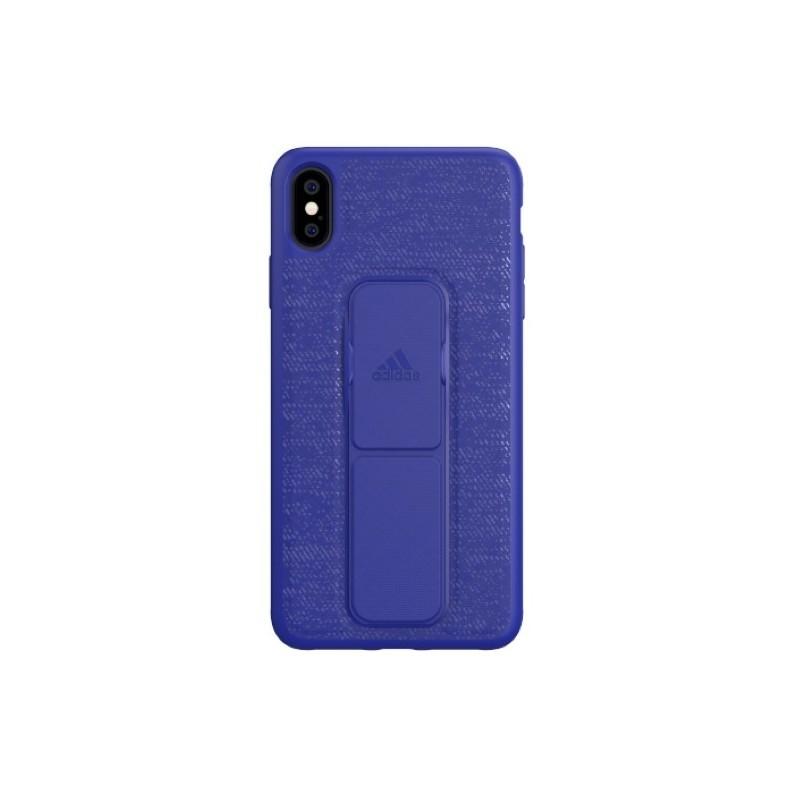 Adidas SP Grip Case iPhone XS Max Blau