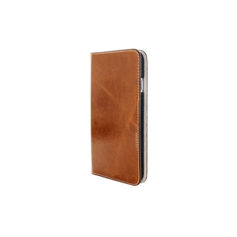 Mobiparts Excellent Wallet Case iPhone 7 Oaked Cognac