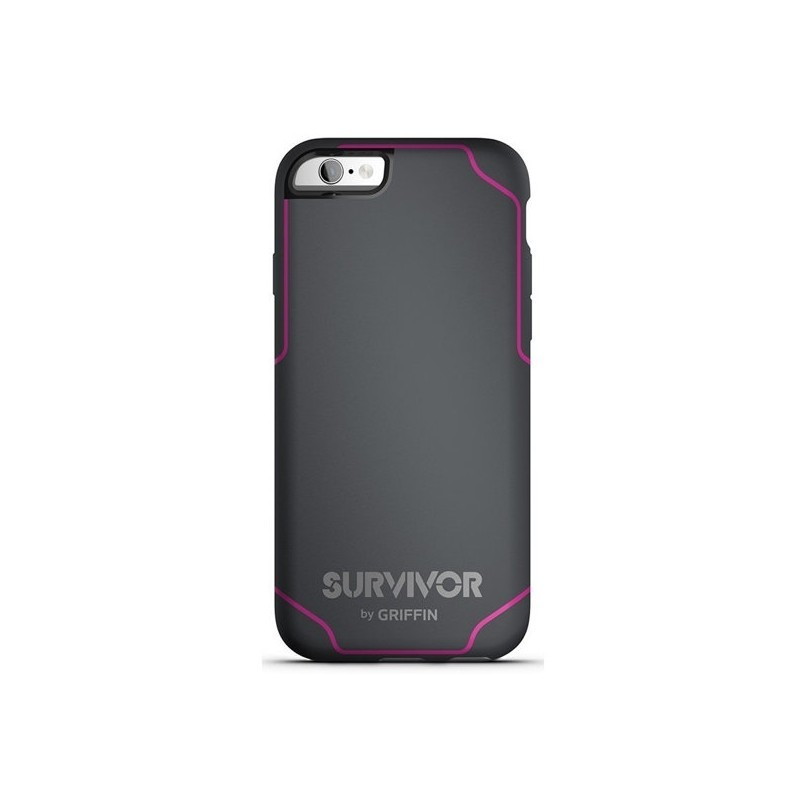 Griffin Survivor Journey iPhone 6(S) grau/rosa